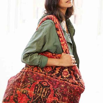 Fresco Towels Casbah Sunset Towel Tote Bag- Red One