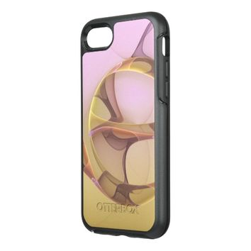 Abstract Motions Modern Fractal Art OtterBox Symmetry iPhone 7 Case