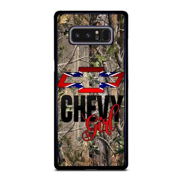 CAMO BROWNING REBEL CHEVY GIRL Samsung Galaxy Note 8 Case Cover