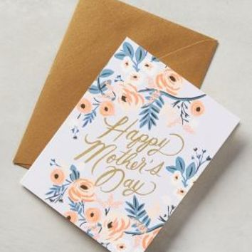 Mother's Day Card by Rifle Paper Co. Lavender One Size Gifts