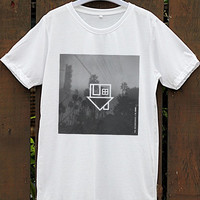 The Neighbourhood White - Gray  Unisex T-shirt  For Women - Men Size S,M,L,XL ( We make your photo on T-shirt Your style on T-shirt  )