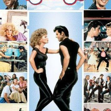 Grease Mini movie poster Sign 8in x 12in