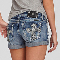 Miss Me Cross-Pocket Shorts | Dillards.com