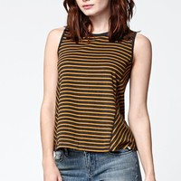 Element Hannah Stripe Swing Tank Top - Womens Tees