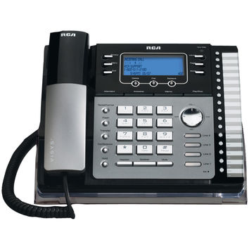 Rca 4-line Corded Phone (with Caller Id, Answering System & Auto Attendant)