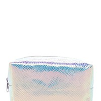 Iridescent Makeup Bag