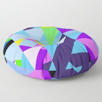 Geometric XIX Floor Pillow by tmarchev