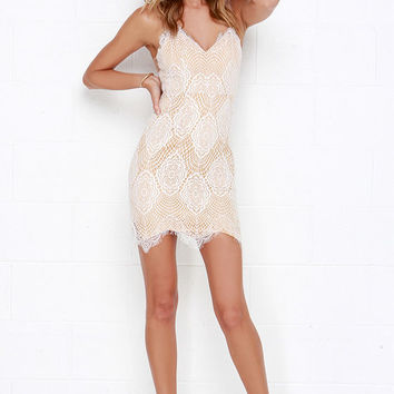 Luxe for Life Ivory Lace Dress