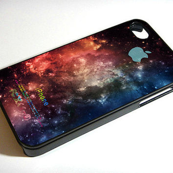 space galaxy nebula- iPhone 4 Case ,iPhone 5 case,samsung galaxy s3 and Samsung galaxy s4 Hard Plastic Case
