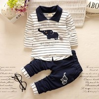 Newborn Baby Boys Animal Clothes Set