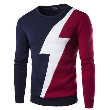 Mens Lightning Sweater