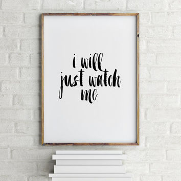 Typography Art Print White and Black art Print Home Decor Dorm Decor Dorm Art Office Decor Printable quotes Instant download Wall artwork