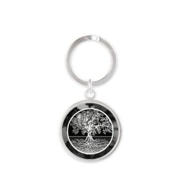Logic Round Keychain> Tree of Life Shop