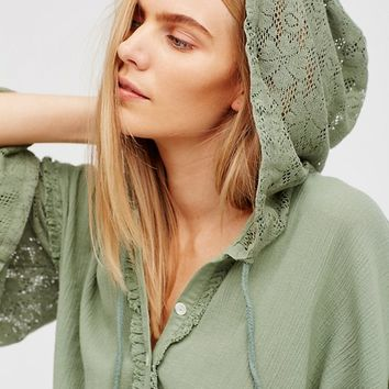 Free People Easy Breezy Hoodie