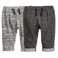 H&M 2-pack Sweatpants $24.99