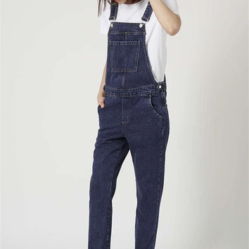 Top Shop Hot Sale Denim Casual Vintage Pants [8069638855]