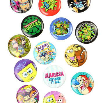 NICKELODEON PIN SET