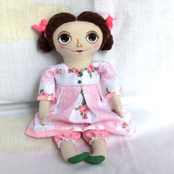 Textile doll Interior doll Handmade doll Gift for girl Unique gift