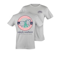 Palmetto Moon | Simply Southern States Map T-shirt | Palmetto Moon