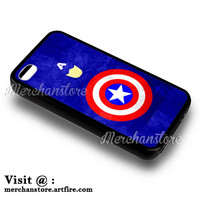 The Avengers Captain America iPhone 4 or 4S Case Cover