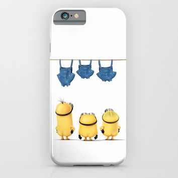 MINIONS LIFE: TOO HOT iPhone & iPod Case by Ylenia Pizzetti