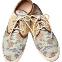Summer straw shoe - Scotch & Soda