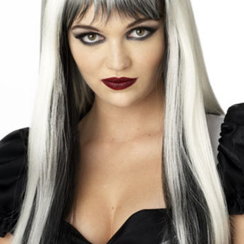 Black and White Enchanted Tresses Wig