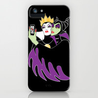 Grimhilde & Maleficent Selfie iPhone & iPod Case by SwanStarDesigns