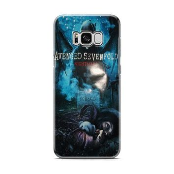 Avenged Sevenfold Nightmare Most Wanted Samsung Galaxy S8 | Galaxy S8 Plus Case