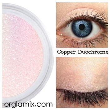 Copper Duochrome Eyeshadow Effects