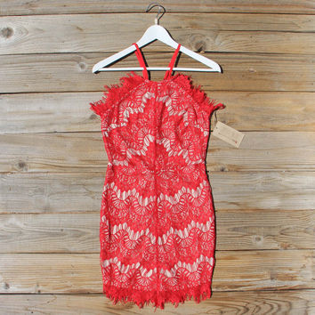 Thunder & Sky Lace Dress