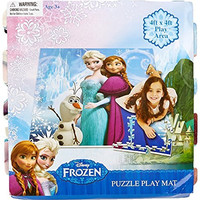 Disney Frozen Puzzle Play Mat, Multicolor