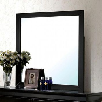 Louis Philippe Iii Contemporary Style Black Mirror