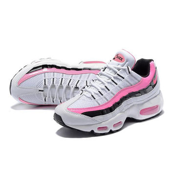 NIKE Air max Women Man sports running shoes sneakers white Pink 468b68fe02d4