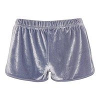 Velour Running Shorts
