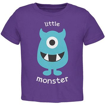 Halloween Little Monster Toddler T Shirt