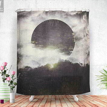 Today is a different day  - Shower curtain - Bathroom decor - Home decor - Boho - Bohemian - Trendy - Wanderlust - Nature - Curtains.
