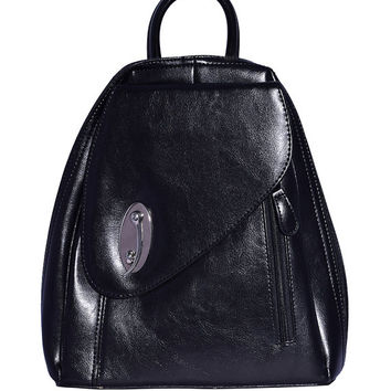 Deadstock 90s Perfect fake leather MINI BACKPACK!  ~ Brown or Black