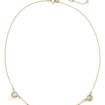 Anna Beck Semiprecious Stone Station Necklace | Nordstrom