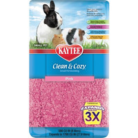 Kaytee Clean & Cozy Pink Animal Bedding, 500 Cubic Inch