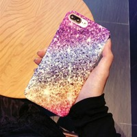 Individual color relief mobile phone case for iPhone X 7 7plus 8 8plus iPhone6 6s plus -171113