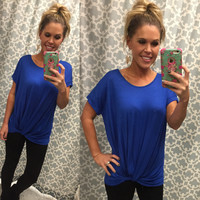 Knotted Top: Royal