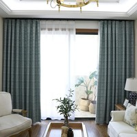 Custom printed blackout curtains & drapes for room divider, living room