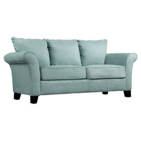 Handy Living Milan Sofa in Blue