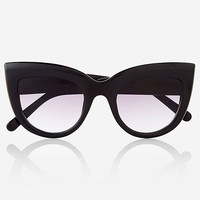 Super Cat Eye Sunglasses from EXPRESS