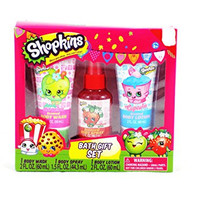 Shopkins Cupcake Strawberry Apple Blossom Bath Gift Set