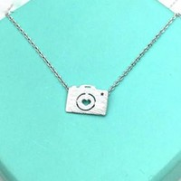 Necklace With Silver Camera Pendant - PFNECKLACEI