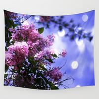 Lilac Sparkle Wall Tapestry by Minx267