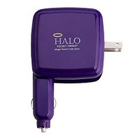HALO 3000 mAh Portable Power Cube with Built-In Auto & Wall Charger — QVC.com