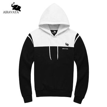 Spring Clothing Men's Hood Man Fashion Sweatshirts Cotton Fleece New Male's Pullover Hoodie